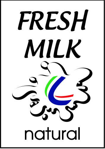 mẫu decal dán chai sữa, nước mát