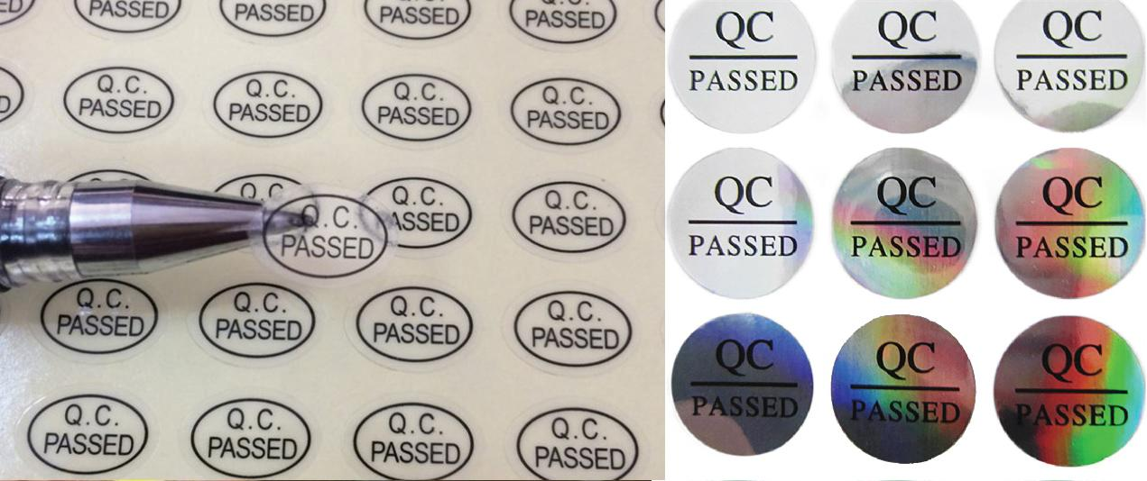 in decal QC pass 7 mau