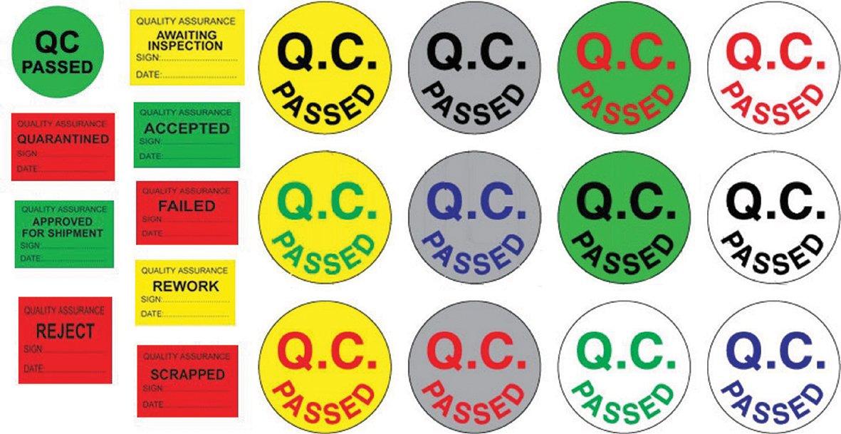 in sticker co chu QC passed